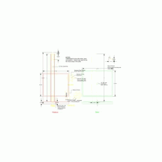 Hexagonal Pillar Speaker Stand Free DXF File