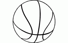 Basketball 2 Free DXF File