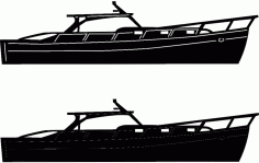 Boats And Ships 4 Free DXF File