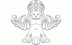 Fairy Free DXF File