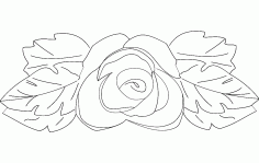 Flower 7 Free DXF File
