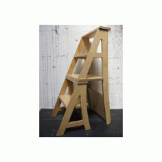 Chair Stepladder Free DXF File