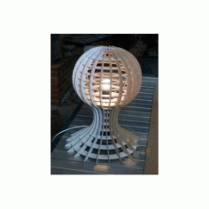 Lamp With Globe Detail Free DXF File