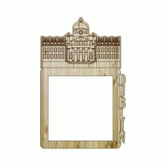 Laser Cut Photo Frame Dublin Free DXF File