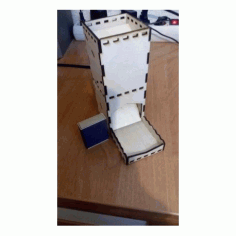 Tower For Dice Free DXF File
