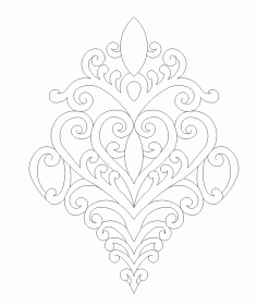 Ornament Art File Free CDR Vectors Art