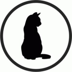 Coasters Cute Cats Download For Laser Cut Free CDR Vectors Art