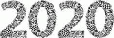 Floral 2020 Print Or Laser Engraving Machines Free CDR Vectors Art
