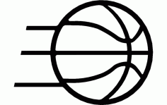 Basketball Free DXF File
