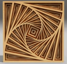 Multilayer 3d Ornament For Laser Cut Free CDR Vectors Art