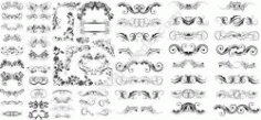 Swirl Collections Set Free DXF File