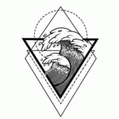 Geometric Wave Free DXF File