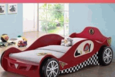 Racing Car Shaped Bed Download For Laser Cut Cnc Free DXF File