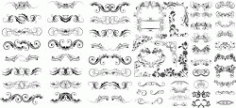 Swirl Collections Free DXF File