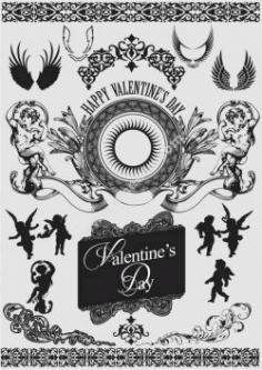Valentine Decorative Free DXF File