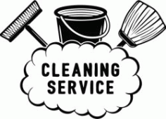 Banner Of Cleaning Service Company Free CDR Vectors Art