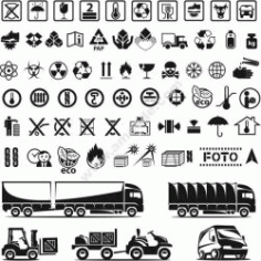 Delivery Icons Set Free CDR Vectors Art