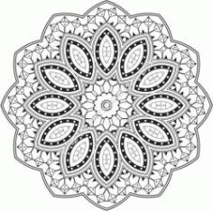 Excellent Mandala Design Free CDR Vectors Art
