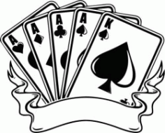 High End Casino Banners Free CDR Vectors Art