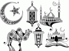Islamic Pattern Free CDR Vectors Art