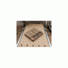 Cnc Router Clamp Tray Free DXF File
