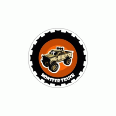 Monster Truck Free DXF File