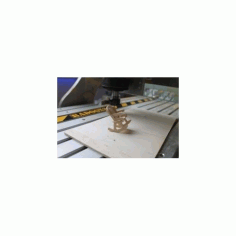 Rocking Chair Assembly Free DXF File
