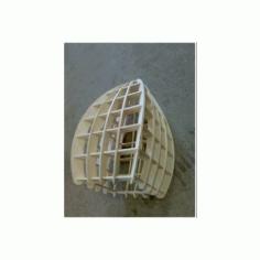 Square Lamp Free DXF File
