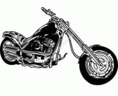 Motorcycle Free CDR Vectors Art