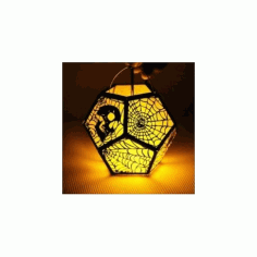 Halloween Lamp 2 Free DXF File