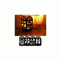 Halloween Lamp Free DXF File