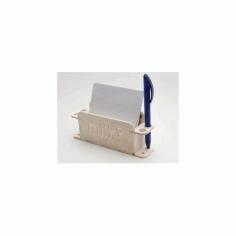 Zettelhalter Free DXF File
