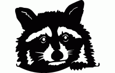 Animal Enot 300 Free DXF File