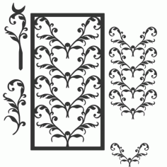 Ivytrellis Free DXF File
