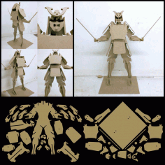 Samurai Free DXF File