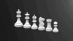 Chess Game Bishop Free DXF File