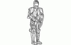 New Armor Suit Free DXF File
