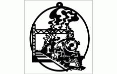 Train Free DXF File