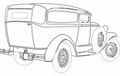 1930 Chopped Free DXF File