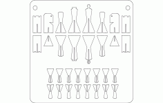 Chess Free DXF File