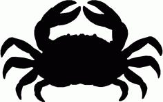 Crab Free DXF File