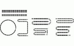 Cribbage Free DXF File