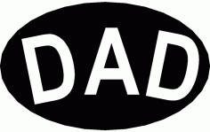 Dad Free DXF File