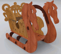 Sleigh Free DXF File