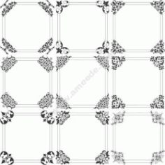 Square Decorative Frame Free CDR Vectors Art