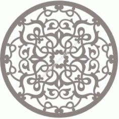 Stylized Mandala Ornament Free CDR Vectors Art