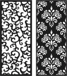 Chinese Pattern Partition For Laser Cut Cnc Free DXF File