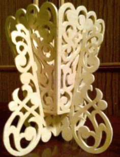 Flower Vase Light For Laser Cut Cnc Free DXF File