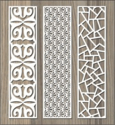 Stone Pattern Baffle Pattern For Laser Cut Cnc Free DXF File