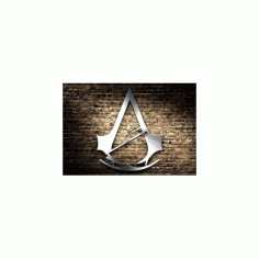 Assassins Creed Logo Free DXF File